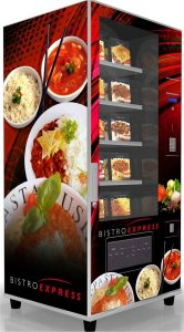 Bistro Ambient Meals Vending Machine
