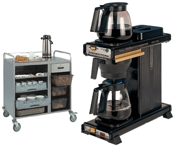Filter-Coffee-Machine-and-Trolley