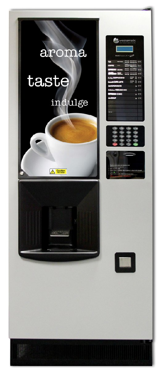 Hot Drinks Vending Machine Offer