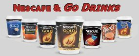 Nescafe and Go Drinks