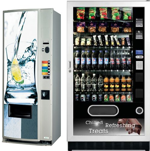 Can And Bottled Drink Vending Machines