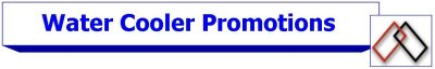 Water Cooler Promotions and Offers
