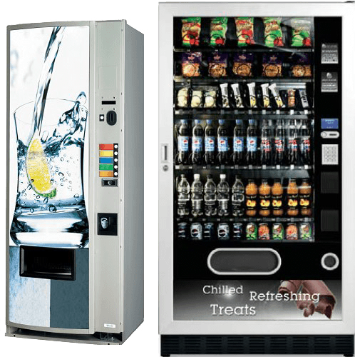 Snack and Can Drink Vending Machines