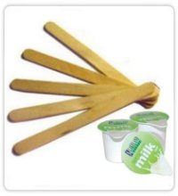 Stirrers and Milk Pots