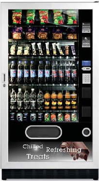 Snackpoint Duo Large Snack Can Bottle Vending Machine