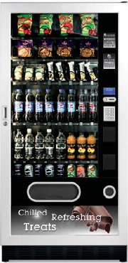 Snackpoint Duo Medium Snack Can Bottle Vending Machine