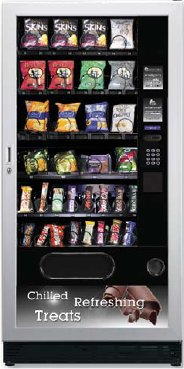 Snackpoint Quattro Snack Can Bottle Vending Machine