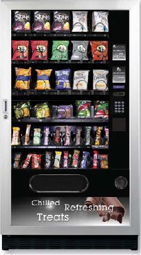 Snackpoint Quinto Snack Can Bottle Vending Machine