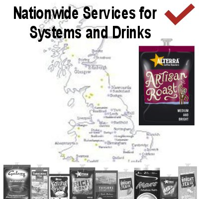 Flavia Nationwide Machines and Drinks with Link Vending