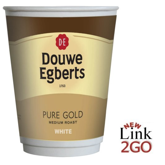 Douwe Egberts White Coffee Go Drinks In Cup 12oz 15x10
